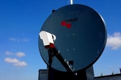 Antena satelitarna  Triax 100 odbiór na kilka dekoderów