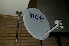 Nietypowy montaż anteny nc+ do balkonu