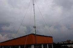 Podczas montażu anteny GP-7 DX