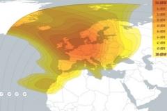 zasięg satelity Eutelsat 28A