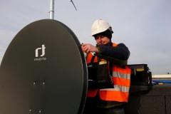 Ustawianie anteny satelitarnej - Daniello Garbów