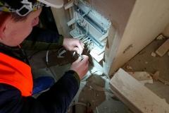 Uzbrajanie skrzynki TSM w instalacji zbiorczej