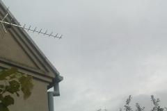 Zamontowana antena telewizji naziemnej