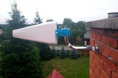 Antena kierunkowa do wzmacniacza GSM