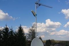 Masz antenowy z anteną GSM