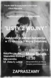 Listy z wojny - Teatr z Nasutowa w Lubartowie 20