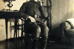 Nasutów 1920 r. Franciszek Żbikowski (syn Anieli z Głowaczów)