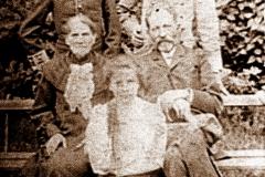 Aleksander Głowacz z rodziną - Nasutów