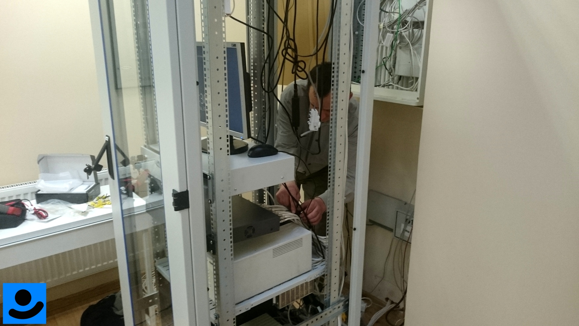 Podłączenie i konfiguracja rejestratora CCTV