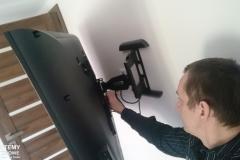 Montaż telewizora na ścianie - Lublin