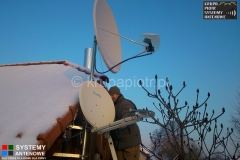 Ustawienie anteny internetu Tooway