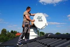 Mocowanie anteny nc+ do dekodera 4K