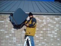 Ustawienie anteny satelitarnej - Nowy Krępiec