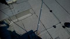 Zwód pionowy odgromienia anten