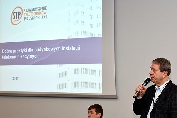 Jacek Szymczak opowiada o dobrych praktykach dla budynkowych instalacji telekomunikacyjnych