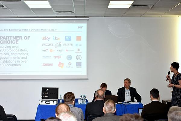 Urszula Marzec prezentuje firmę Astra CEE