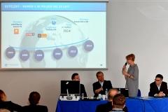 Marlena Dylewska prezentuje firmę Eutelsat