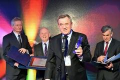 Wojciech Sosiński dziękuje za nagrodę przyznaną firmie Diomar