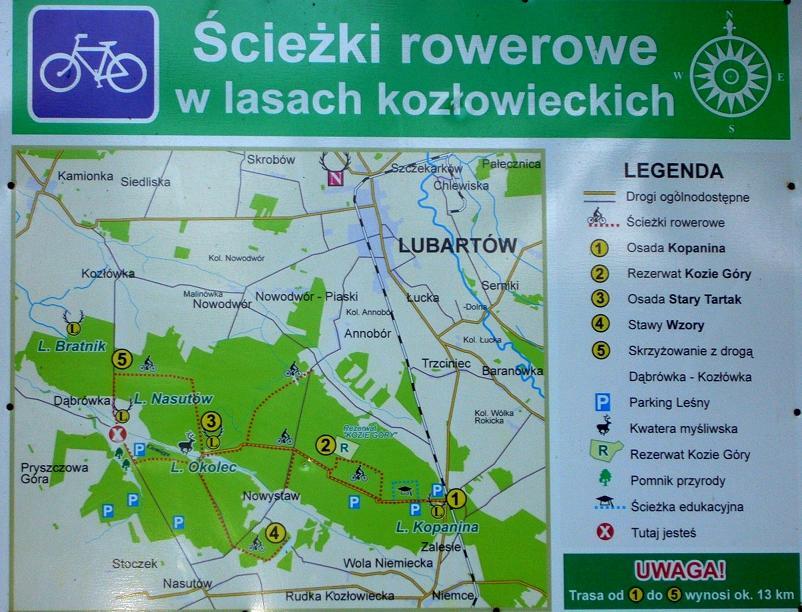 ścieżki rowerowe - Niemce