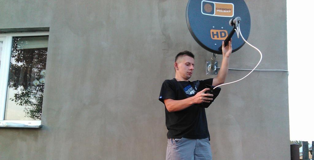 Antena Cyfrowego Polsatu - ustawienie anteny Staroscin