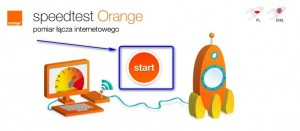 Test łącza orange