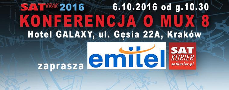 EmiTel na SAT KRAK 2016 plany wdrażania MUX 8