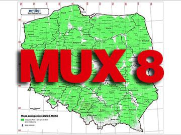 Anteny naziemne dla MUX 8