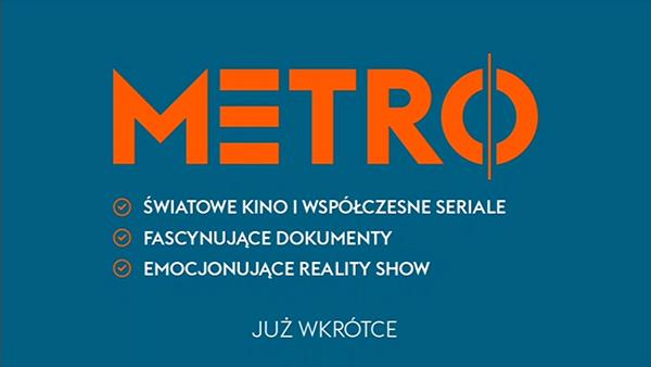 Plansza kanału Metro TV