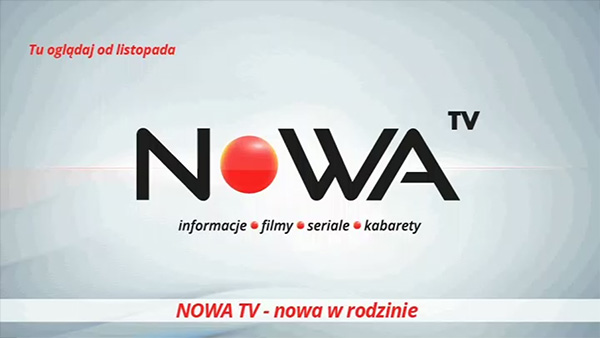 Plansza kanału Nowa TV