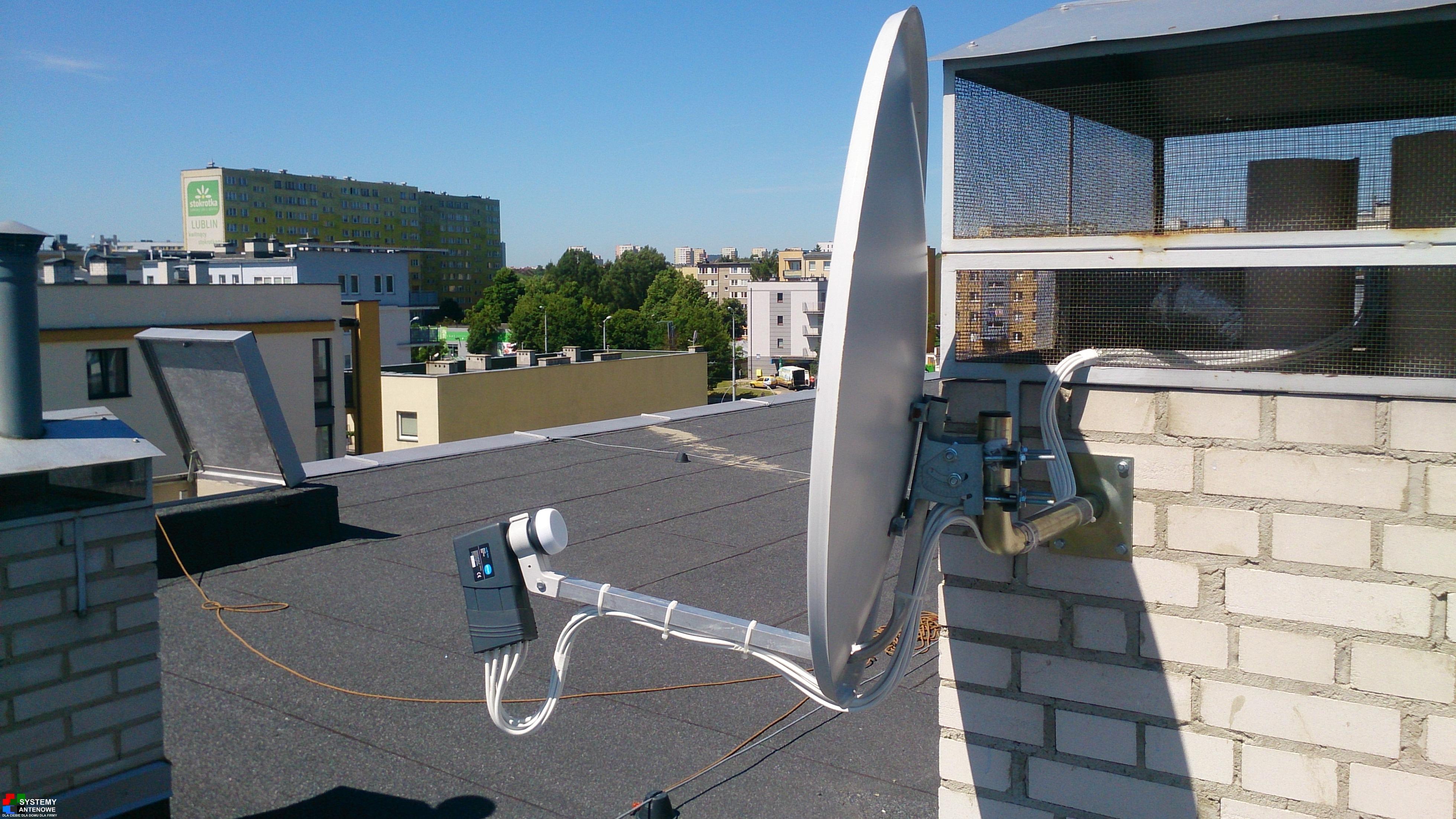 Miejsce i sposób montażu anteny