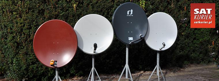 Porównanie: Anteny stalowe 85-90 cm