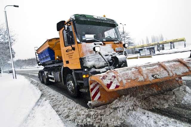 Odśnieżanie dróg na terenie Gminy Niemce