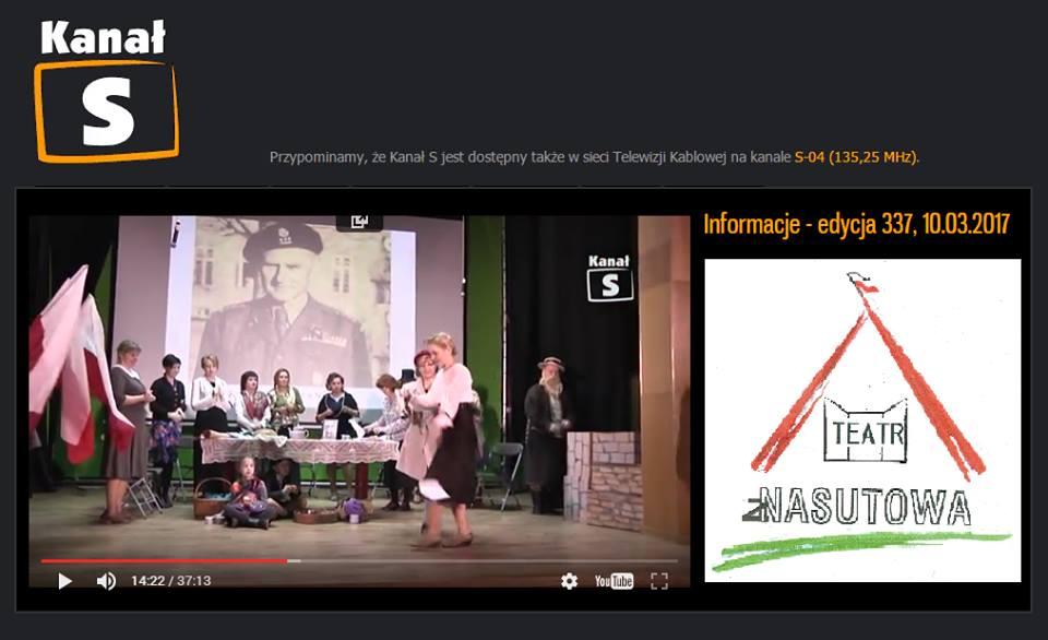 Listy z wojny - Teatr z Nasutowa w Lubartowie