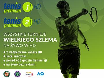 Tenis Premium 1 HD i Tenis Premium 2 HD już nadają