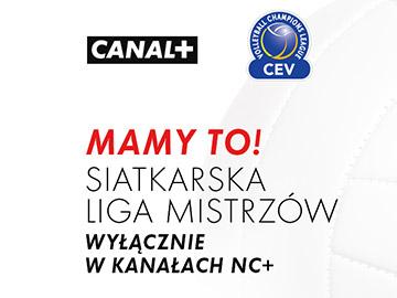 Platforma nc+ z prawami do siatkarskiej Ligi Mistrzów CEV