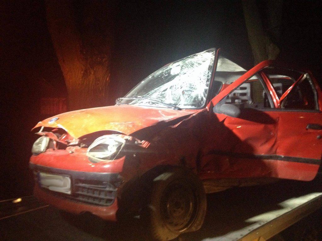 Wypadek dwóch samochodów osobowych w Alei Lipowej - Nasutów