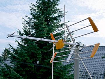 Test anten DVB-T combo H/V