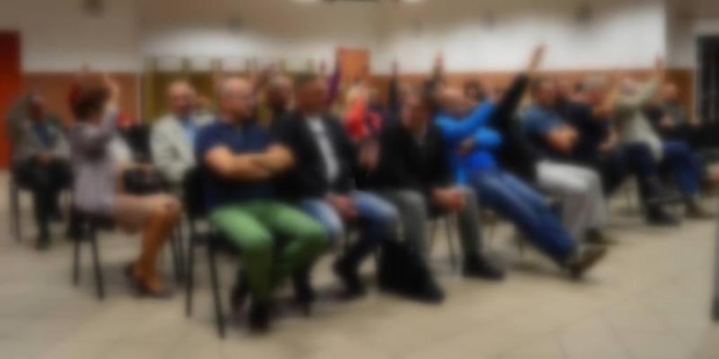 Zebranie sołeckie mieszkańców Nasutowa