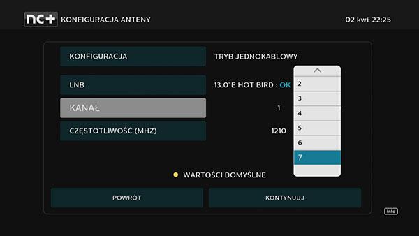 Konfiguracja anteny w dekoderze 4K UltraBox