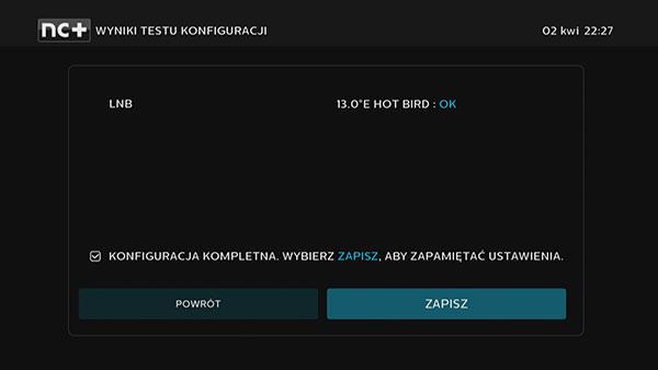 Test konfiguracji dekodera 4K UltraBox