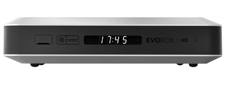 Evobox HD - widok z przodu