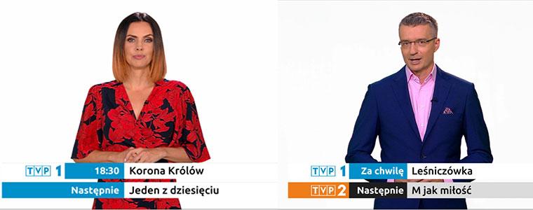 Zapowiedzi spikerów wracają do TVP
