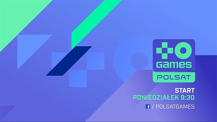 Plansza nadawana przed startem Polsat Games
