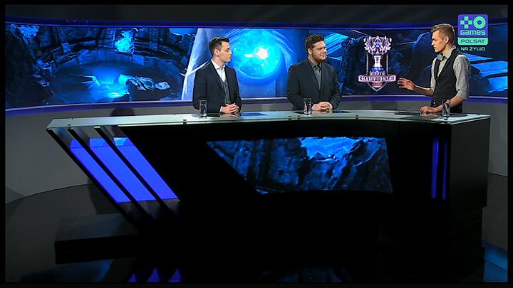 Przekaz kanału Polsat Games