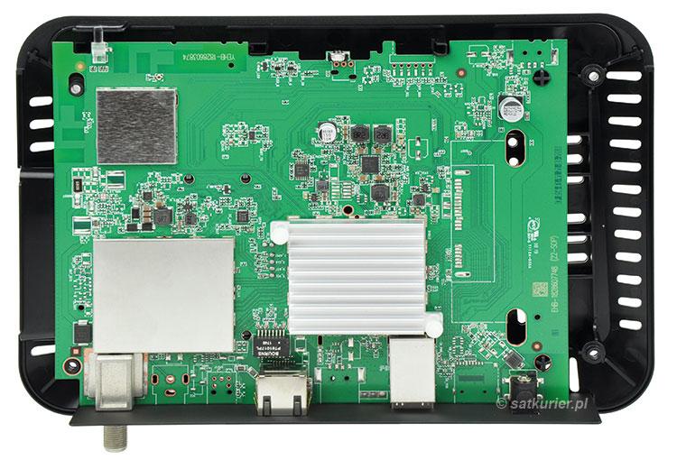 Evobox Lite - wnętrze dekodera