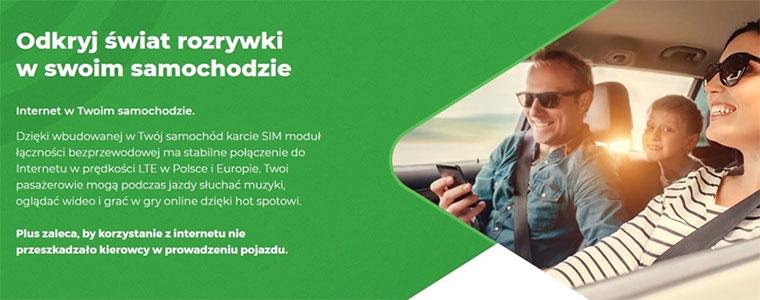 Plus z nową usługą - Internet w samochodzie