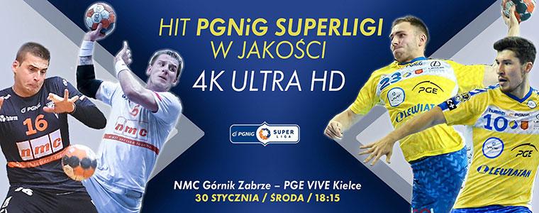 Pierwszy w historii mecz PGNiG Superligi w 4K