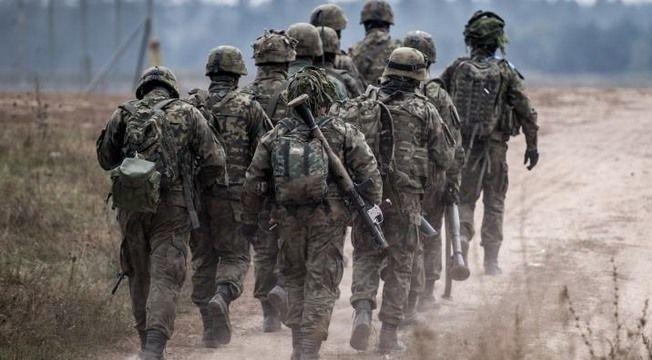 Szkolenie pododdziałów 2.LBOT na terenie Gminy Niemce