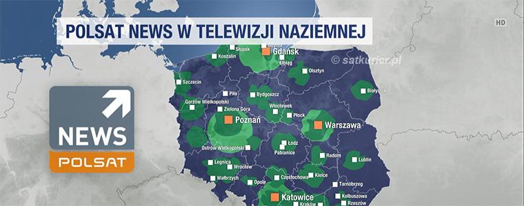 Polsat News testowo odkodowany, testy HbbTV i DVB-T2 w mux4