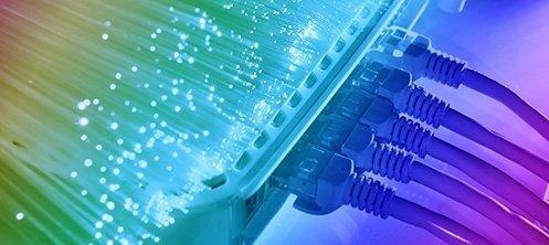 Budowa sieci światłowodowej, prace w terenie